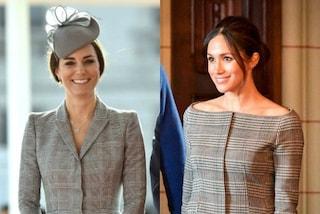 Meghan Markle imita Kate Middleton, entrambe scelgono la fantasia Principe di Galles