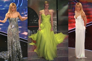 I look di Michelle Hunziker a Sanremo: com'era sul palco del suo primo Festival