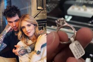 La gaffe di Fedez: rivela il prezzo dell'anello di fidanzamento regalato a Chiara Ferragni