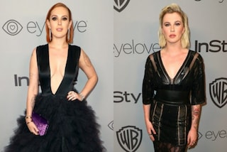 Rumer Willis Vs. Ireland Baldwin: sfida a colpi di maxi scollature ai Golden Globe