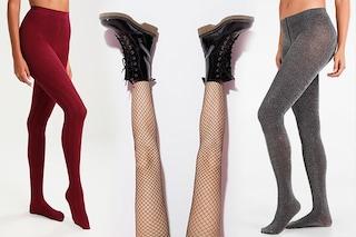 Come vestire le gambe in invero: 8 collant di tendenza
