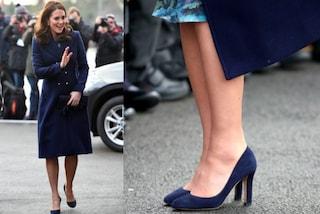 Kate Middleton non indossa le calze in pieno inverno: ecco perché lo ha fatto
