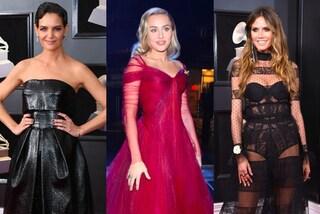 Grammy 2018: da Katie Holmes a Miley Cyrus, tutti i look delle star sul red carpet