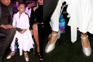 Blue Ivy ai Grammy Awards con mamma Beyoncé: a 6 anni indossa le scarpe col tacco