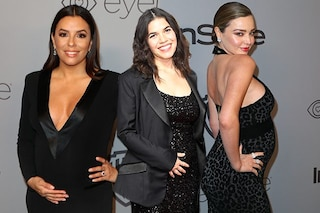 Eva Longoria, Miranda Kerr e America Ferrera: pancioni in bella mostra ai Golden Globe