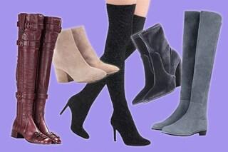 Dagli ankle boots ai cuissardes: 4 stivali da compare in saldo