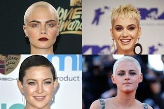 Da Kristen Stewart a Cara Delevingne: i tagli di capelli più estremi del 2017