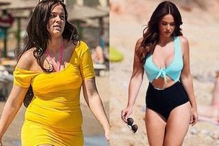 """Vicky Pattison in bikini: la star di """"Geordie Shore"""" mostra le curve dopo essere dimagrita"""