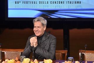 Sanremo 2018: rivelati gli abiti di Claudio Baglioni, sono firmati Ermanno Scervino