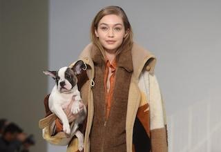 Cuccioli in passerella: le modelle di Tod's sfilano con dei dolci cagnolini tra le braccia