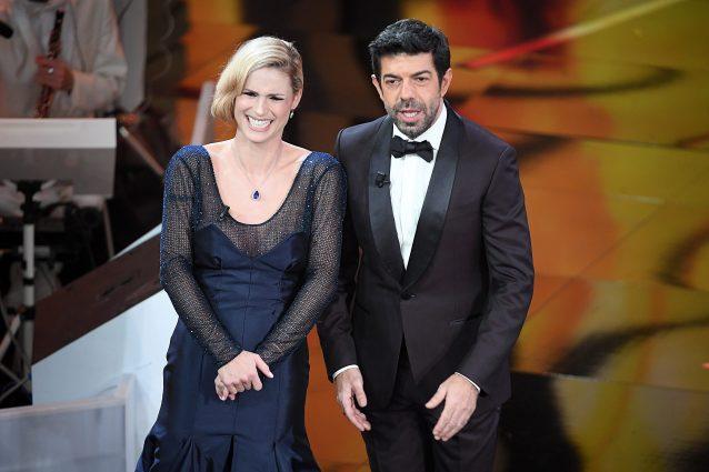 Michelle Hunziker e Pierfrancesco Favino