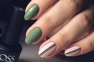 Manicure olive green: il colore di smalto da provare adesso