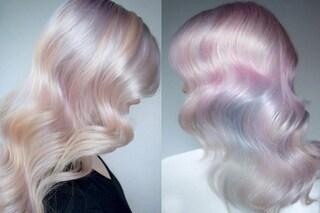 Opal hair, la versione delicata dei capelli unicorno