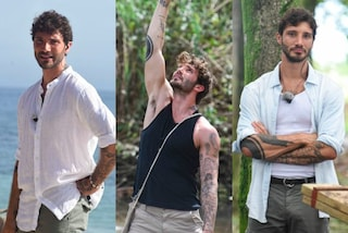 Camicie di lino e bermuda: i look di Stefano De Martino all'Isola dei Famosi