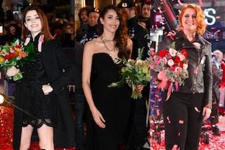Tutte in nero sul red carpet di Sanremo: i look dei 20 big in gara