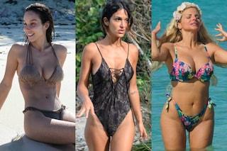 I bikini sexy dell'Isola: da Rosa Perrotta alla Cipriani, tutte mettono le curve in mostra