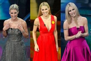 Dall'anello rosa al collier di diamanti: tutti i gioielli di Michelle Hunziker a Sanremo