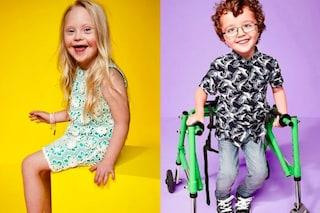 I bambini disabili diventano modelli: la campagna pubblicitaria celebra la diversità