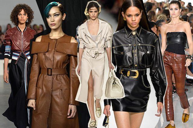da sinistra Sportmax, Fendi, Tod's, Versace, Roberto Cavalli