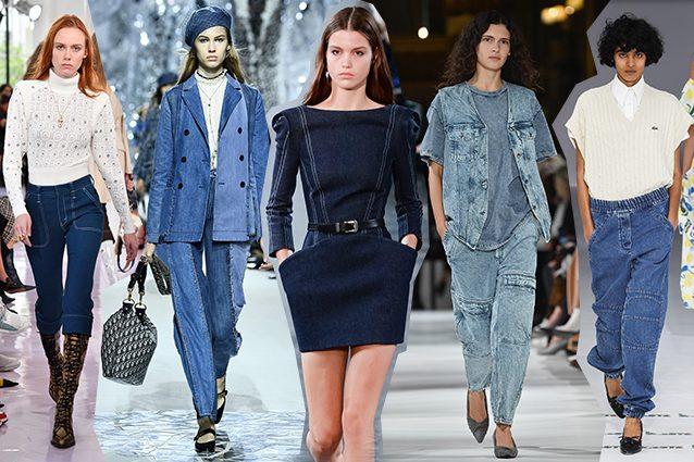 da sinistra Chloé, Dior, Mugler, Stella McCartney, Lacoste
