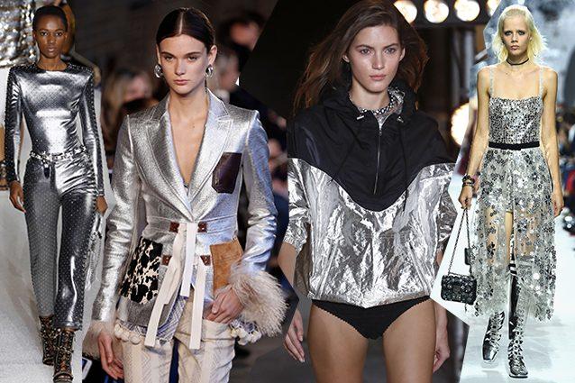 da sinistra Balmain, Altuzarra, Isabel Marant, Dior