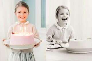 Classica e romantica, la torta per i 6 anni della piccola principessa