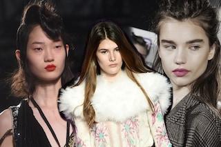 Tutti i rossetti della Milano Fashion Week: nude, rossi e colori pop