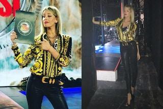 Alessia Marcuzzi all'Isola dei Famosi cambia vestito: il look dell'ottava puntata