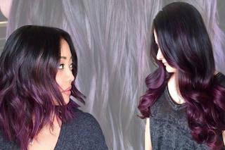 Blackberry hair, il viola per le more che non vogliono decolorare i capelli