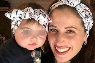 I look coordinati di Clio Make-up e della figlia: Grace indossa la fascia come la mamma