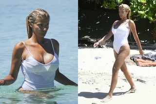 Il costume bianco rivela i capezzoli: il nuovo look di Francesca Cipriani all'Isola