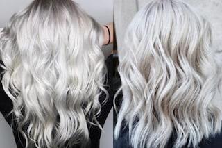 Ghosted hair, il biondo lunare da provare adesso