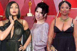 Il peggio degli Oscar 2018: manicure orrende, scollature too much e capelli fuori posto
