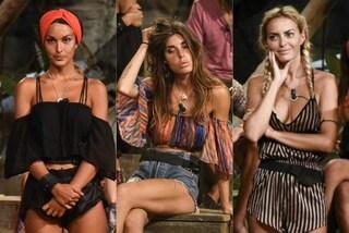Tutine a righe, turbanti e top hippie: i nuovi look delle vip all'Isola dei Famosi