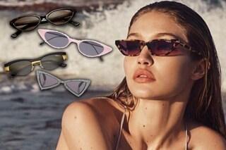 Occhiali mini: l'accessorio della primavera 2018 si ispira a Matrix