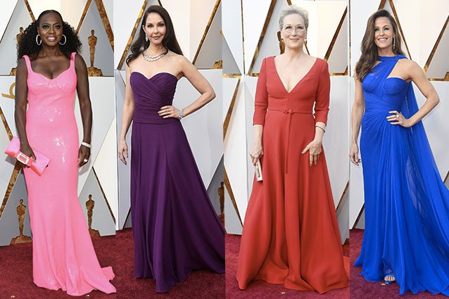 Viola Davis, Ashley Judd, Meryl Streep, Jennifer Garner