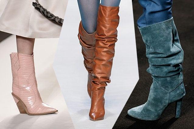 Dagli stivali arricciati ai camperos: 5 scarpe di tendenza
