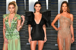 Spacchi, trasparenze e scollature: i look sexy delle star all'after party degli Oscar