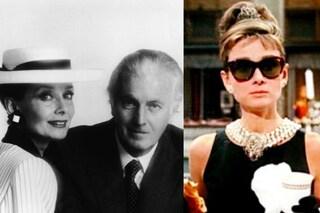 """Givenchy e il tubino nero di Audrey Hepburn, come è nato l'abito di """"Colazione da Tiffany"""""""