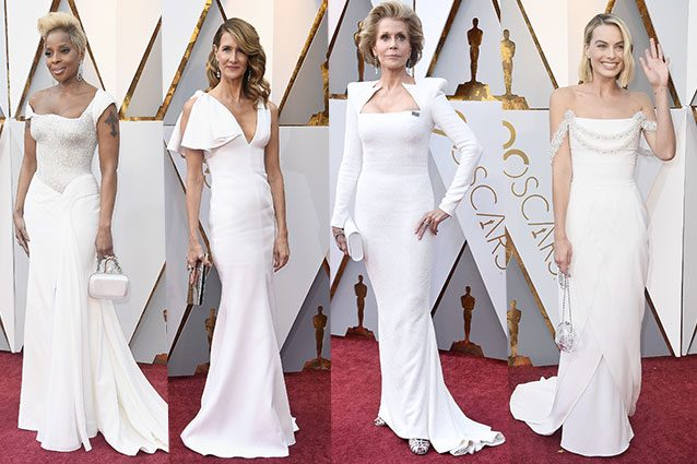 Mary J Blidge, Laura Dern, Jane Fonda, Margot Robbie