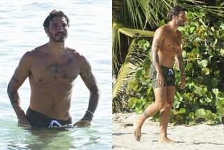 Stefano De Martino si spoglia all'Isola: i muscoli scolpiti fanno impazzire le fan