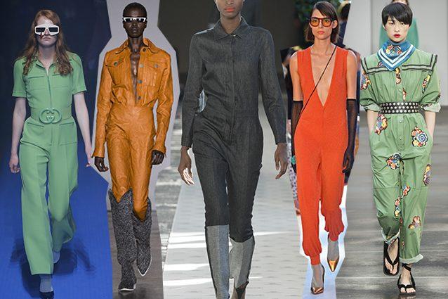 da sinistra Gucci, Cristiano Burani, Max Mara, Missoni, Philosophy di Lorenzo Serafini