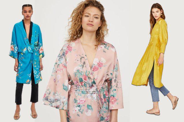 Per la primavera 2018 una delle tendenze imperdibili riguarda un capospalla  colorato e leggero  il kimono. Un capo che regala un tocco orientale e  brioso al ... 2bfc22f92b5