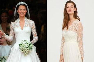 L'abito da sposa di Kate Middleton in versione economica: H&M lancia il modello low-cost