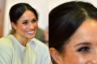 Meghan Markle ha i capelli bianchi e non ha paura di mostrarli: la sua bellezza è naturale