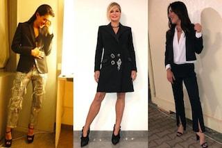 Dalla Ventura a Giulia Michelini, al serale di Amici 2018 spopolano i look da maschiaccio