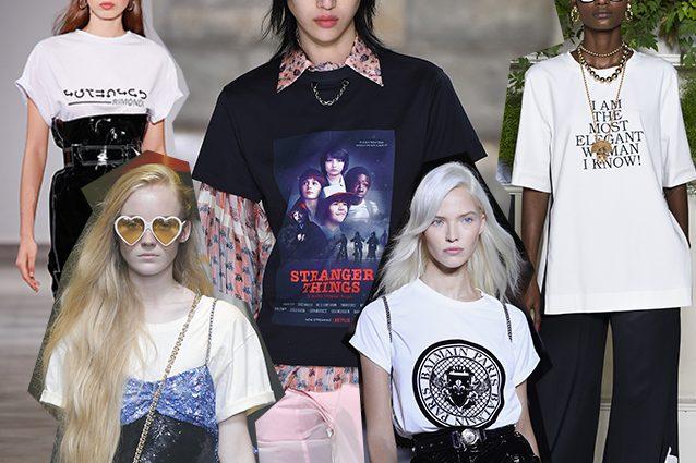 da sinistra Aquilano.Rimondi, Gucci, Louis Vuitton, Balmain, Rossella Jardini