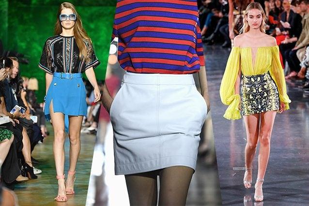 da sinistra Elie Saab, Givenchy, Mugler