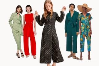 Tuta pantalone, il nuovo completo moda per la primavera 2018