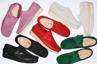 Supreme e Clarks: la collezione di scarpe per l'estate